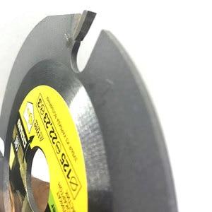 Image 4 - 125mm 3T hoja de sierra Circular multiherramienta amoladora Sierra disco de carburo con punta de madera disco de corte herramienta de tallado cuchillas multiherramienta