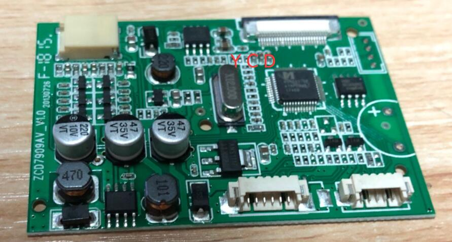 Tablero de controlador HSD070I651 AT070TN07 7