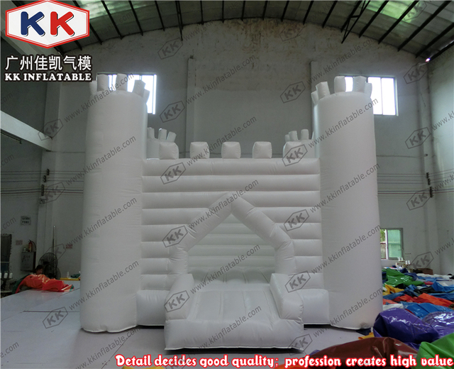 Commercial Giant Inflatable Wedding White Castle Bounce House Al Business