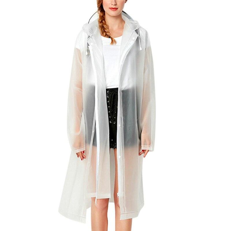 Environmental protection Women's Rain Jacket Outwear Waterproof Windproof Zipper Coat outdoors vocation dailywear cute girls