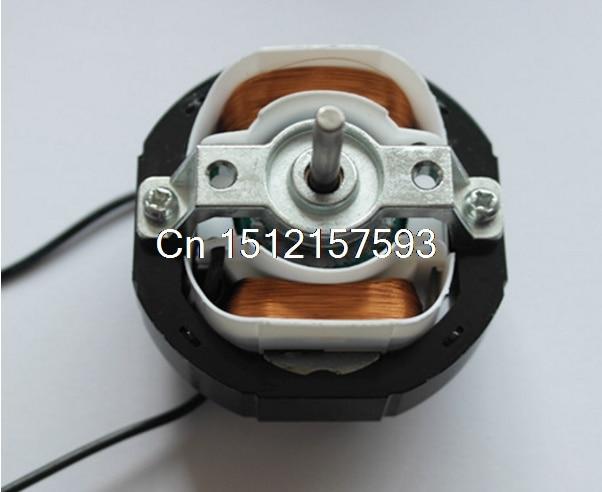 YJ58 CW clockwise 2 Poles 4mm Shaft Dia 2600RPM Shaded Pole Motor AC220V 12-14W around Ventilator Warm fan YJ58-12