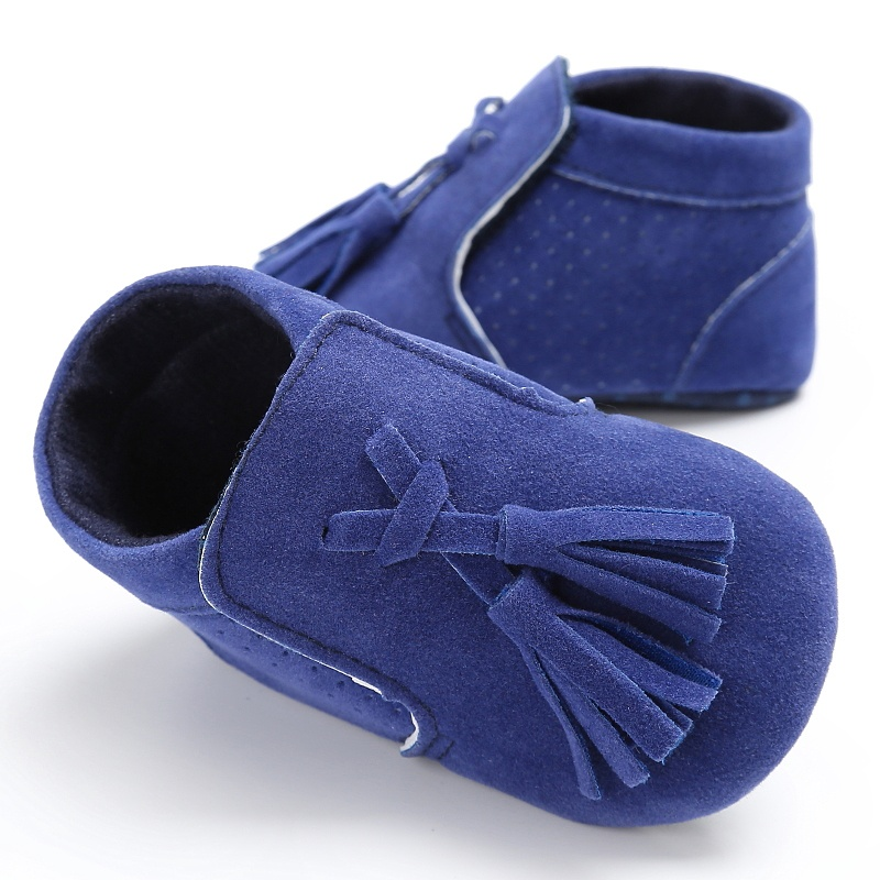 Suede Leather Newborn Baby Boy Girl Moccasins Soft Moccs Shoes Bebe Fringe Soft Soled Non-slip Shoe New Arrival 2017 ...