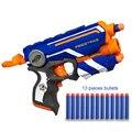Hot Fogo Greve Elite Segura Arma de Brinquedo Macio Bala & 13 Manual Operado Brinquedo Arma Balas macias 20 m Faixa de Tiro Brinquedo de Natal