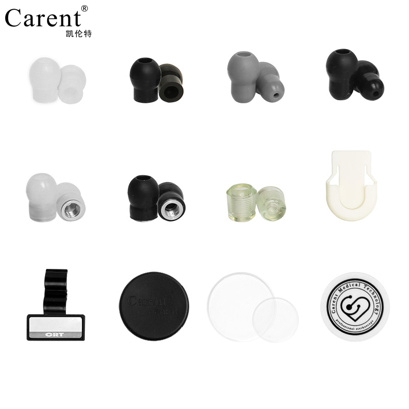 Carent 6 pairs lot Endurable Soft Silicone Earplugs diaphragm head protector name card eartip for Stethoscope