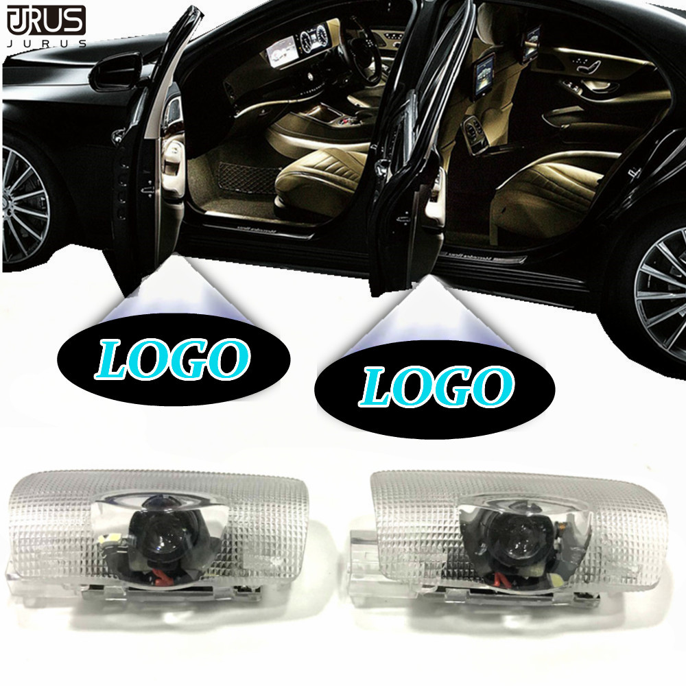 Deadpool Symbol Car Door Projector Welcome Laser Ghost Shadow Light For Toyota