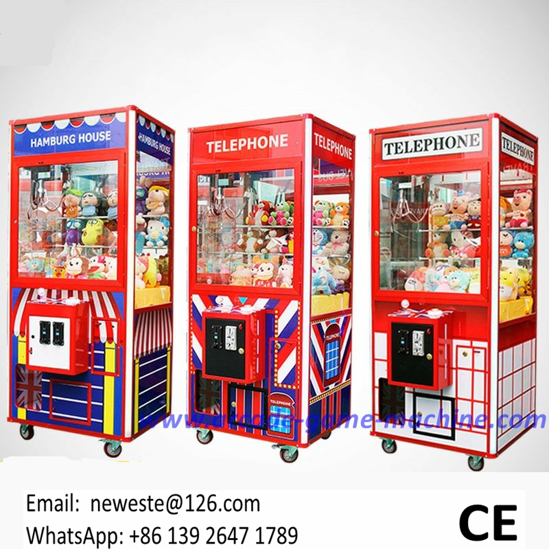 Shopping Malls Singapore American Like Amusement Coin Token Operated Arcade Games Crane Claw Machine For Sale 2016 new amusement park equipment arcade coin operated machine simulator mario kart play car racing games