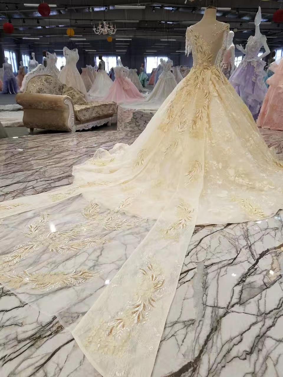 Lace Crystals de lux Margele de aplicatii rochie de mireasa rochie de - Rochii de mireasa - Fotografie 6
