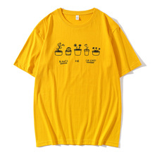 Pants are friends Print Tshirt Women Tumblr Save The Bees Graphic Tees  T Shirts Cotton O-Neck Tops Drop