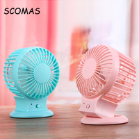 Mini USB Fans Rechargeable Charging Ventilador Laptop USB Fan Air Conditioning For Home School Office Computer