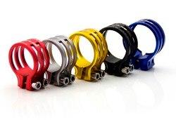 GUB sztyce zaciski góry siodełko rowerowe post clamp  wodoodpornego stosowania rama z włókna węglowego 31.8mm/34.9/37mm w Zaciski sztycy od Sport i rozrywka na