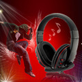 Novo fone de ouvido fone de ouvido w/mic para xbox para 360 para controlador sem fio do xbox para 360 ao vivo black & red atacado atacado