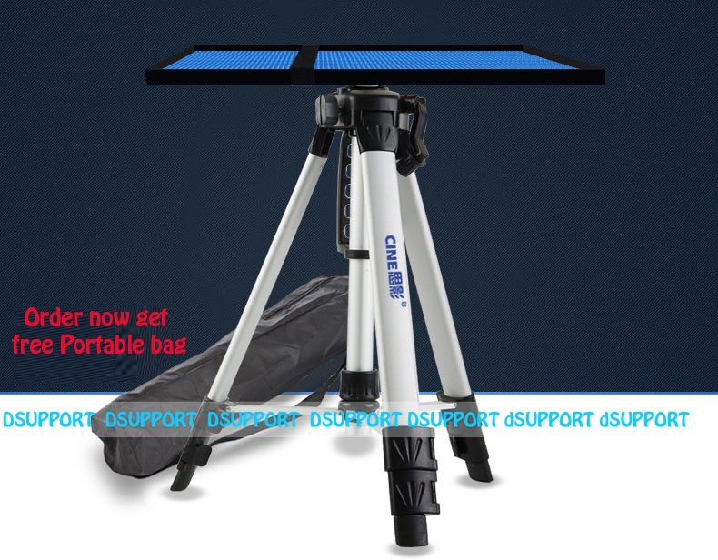 2019 New PB1200 Universal Portable Free Lifting Aluminum Projector Tripod Stand Projector Mount WithTray