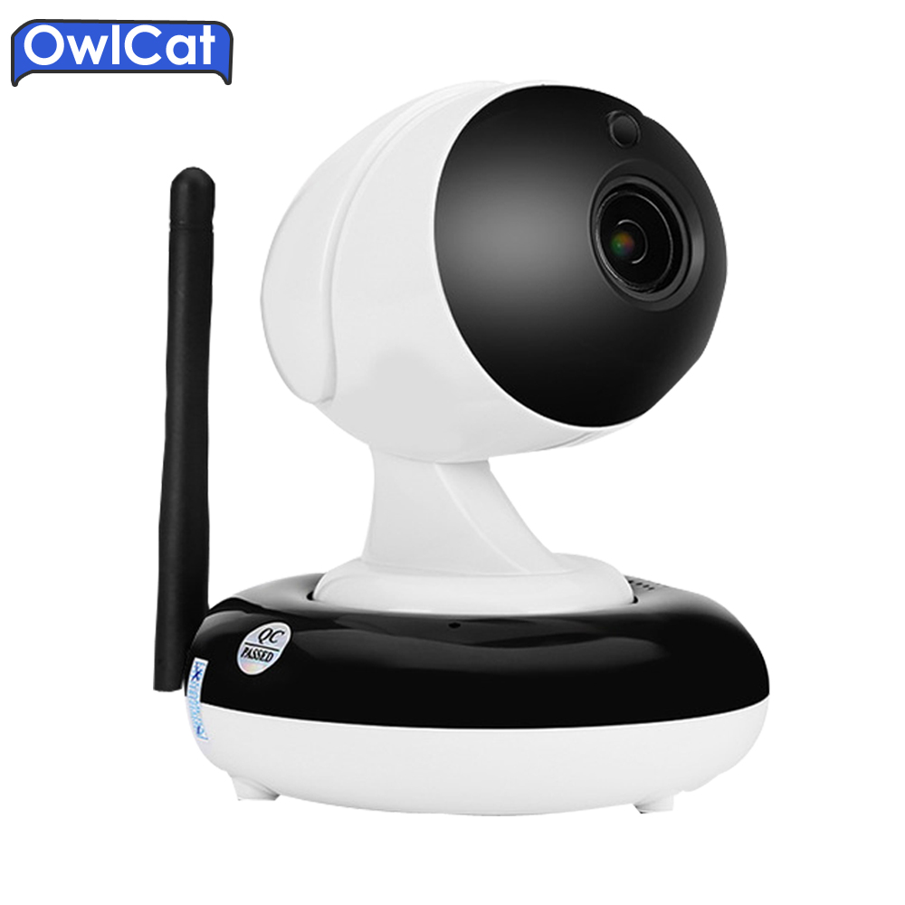 Owlcat HI3516C+SONY323 Home Dome PTZ WIFI Security CCTV IP Camera HD 960P 1080P 3X Auto Zoom SD Card Two Way Audio IR Onvif2.1 hd 720p owlcat onvif wifi dome ip camera home video surveillance smart dome ir cctv network security camera support 128g sd card