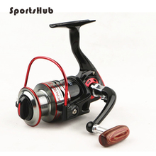 SPORTSHUB Ratio(5.2:1) Metal Spinning Fishing Reels Pre-Loading Spining Wheel right/left interchangeable FT0005