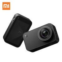Оригинальный Xiaomi Mijia действие Камера 4 К видео Запись цифровой Камера s Bluetooth, Wi Fi 145 градусов Широкий формат Спорт Видео Камера