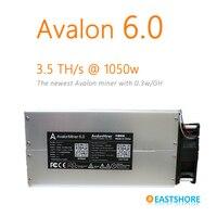 [BÁN OUT] Bitcoin Miner Avalon 6 3.5TH Asic Thợ Mỏ 3500GH Mới Nhất Btc Miner Tốt Hơn So Với Antminer S5