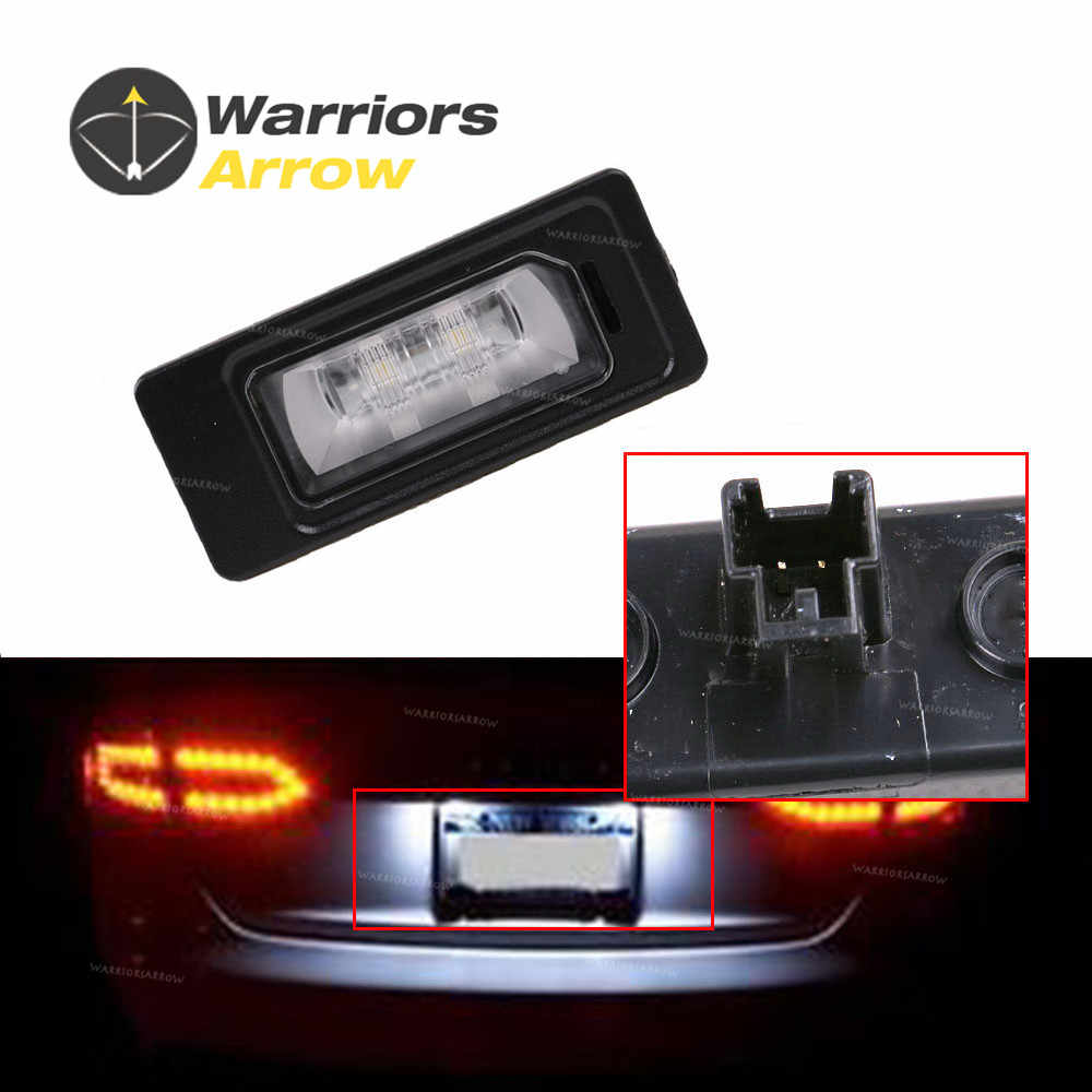 4G0943021 5N0943021 For Audi A1 A3 A4 A5 A6 A7 Q3 Q5 TT For VW Jetta Passat 2013 2014 LED License Plate Light Lamp