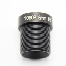 M12 MTV 16mm 12mm 8mm 3MP HD güvenlik kamerası Lens IR HD güvenlik kamerası lensi Sabit Iris Uzun Mesafe Görünümü