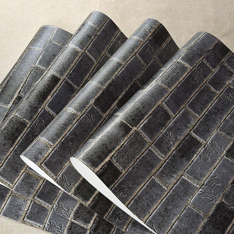 Beibehang papier peint papier peint 3d papier peint rouleau brique pierre mur papier peint fond TV décor mural pvc papier peint pour murs 3d papel
