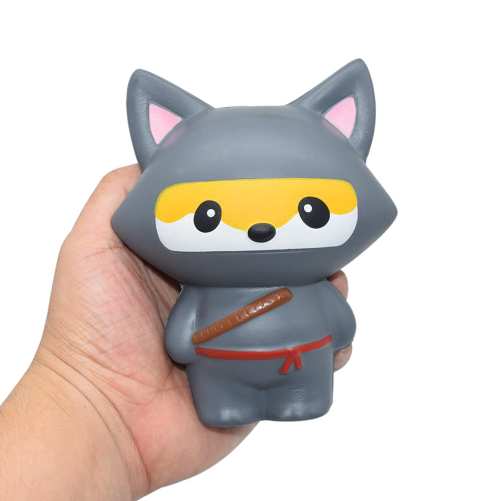Funny Squishy Anti-stress Kidsl Adult Soft Jumbo Cartoon Cat Cartoon Squishy Slow Rising Squeeze Stress Reliever Squishy Toy Novelty & Gag Toys