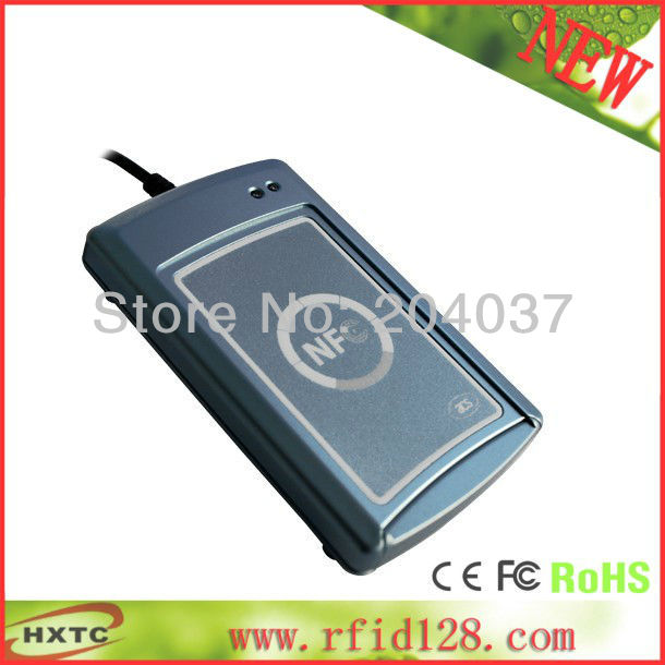 ФОТО RFID Contactless RS232 NFC Smart IC Card/tag Reader Writer(Lecteur/Krtenleser) ACS ACR122S 13.56MHZ  Free Shipping