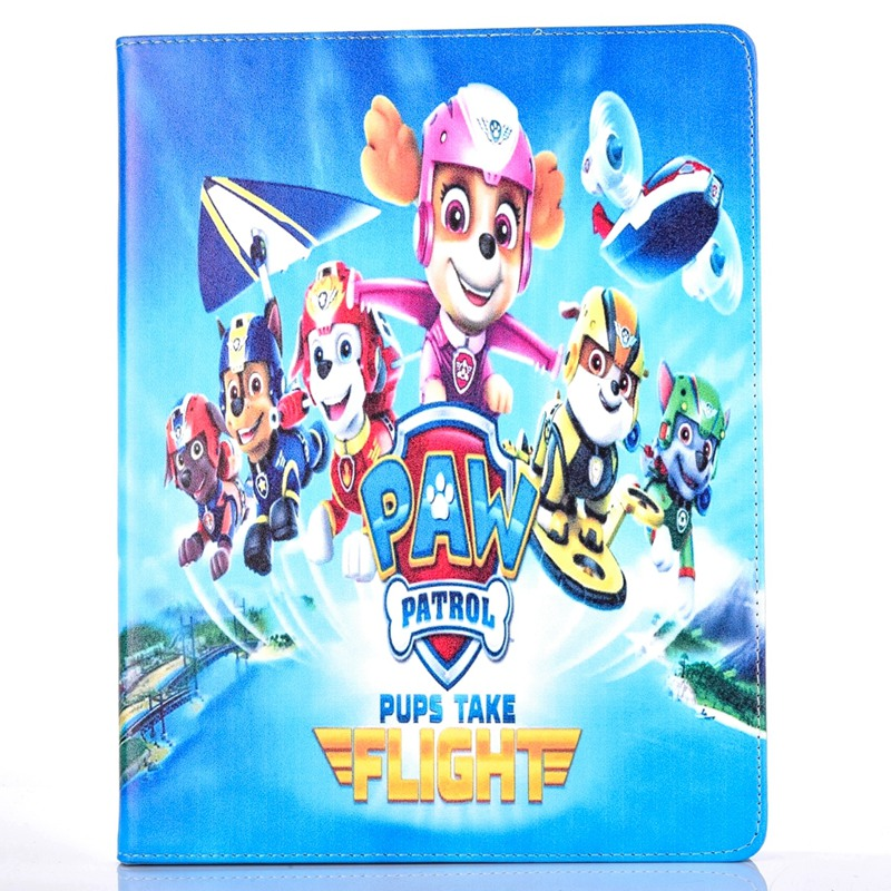 Tablet Case for Apple ipad mini 1 / 2 / 3 fashional PAW PATROL prints PU leather protective Cover stand shell coque para capa new arrival 360 rotating stand flip pu leather case for apple ipad mini 1 2 3 7 9 inch tablet protective cover shell stylus