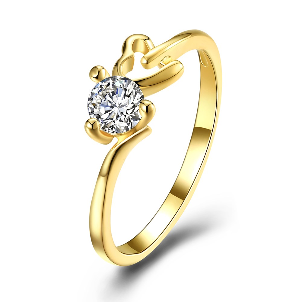 Meaning Promise Ring Jewelry White Cubic Zirconia Love