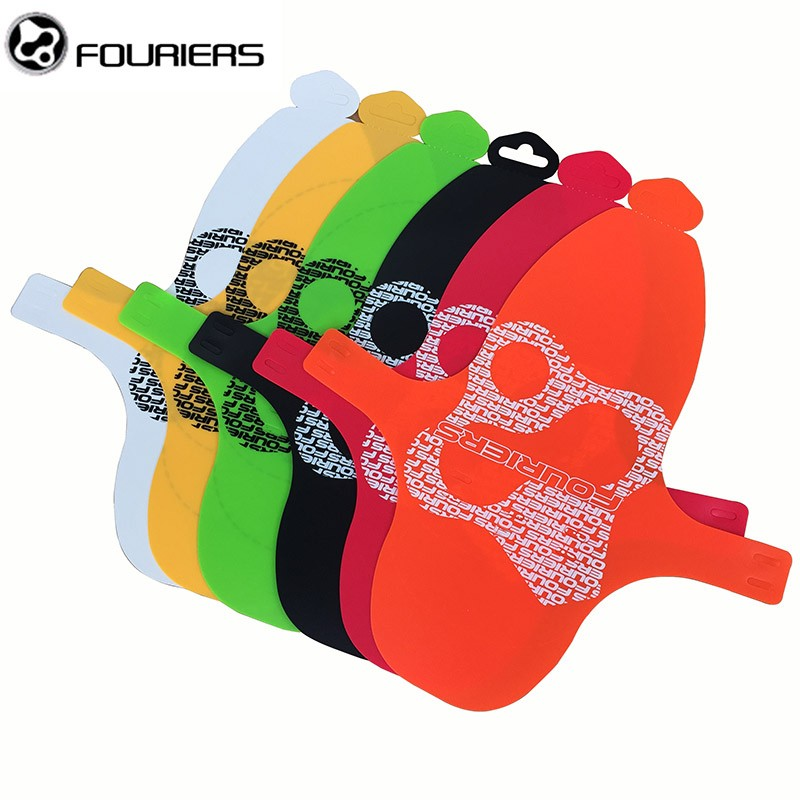 FOURIERS PP Material MTB Suspension Fork Mudguard Bicycle Fenders