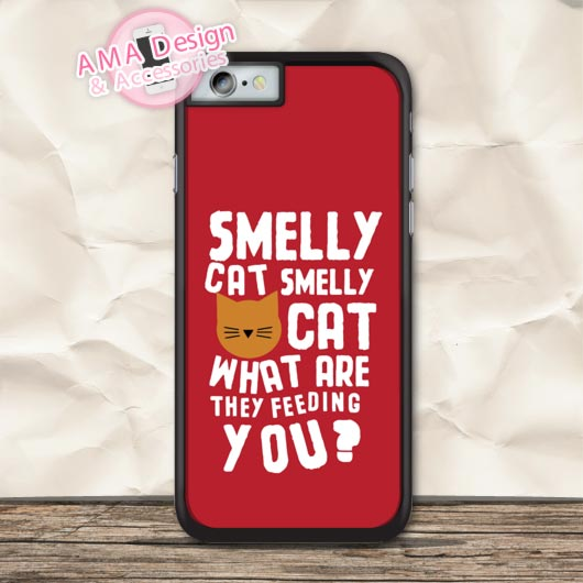 Phoebe Smelly Cat Quote TV Show Friends Protective Case For iPhone X 8 7 6 6s Plus 5 5s SE 5c 4 4s For iPod Touch