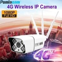Z6U Full HD 1080P Bullet IP Camera Wireless GSM 3G 4G SIM Card IP Camera Wifi Outdoor Waterproof CCTV Camera for iPhone Android