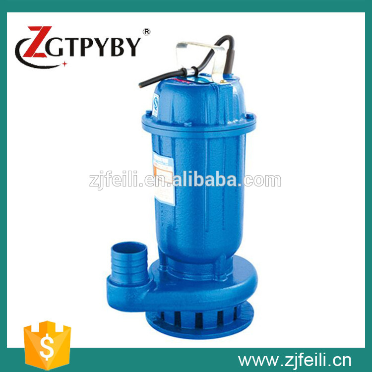 non-clog sewage submersible pump or dirty water pump submersible pump waste water pump 250w 130l min 7m light 220v stainless steel submersible water pump small automatic sewage pump waste water pump