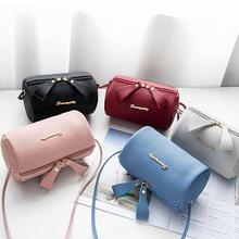 Women PU Leather Mini Shoulder Bag Ladies Crossbody Bag Tote