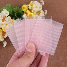 50pcs Invisible Fiber Double Side Adhesive Eyelid Stickers Technical Eye Tapes Magic Stretch Fiber adhesive medical Eye Tapes