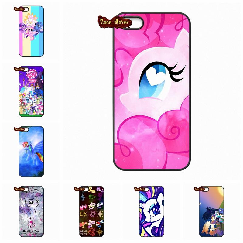 For Huawei Ascend P6 P7 P8 Lite Mate 8 My Little Pony Flower Rainbow Protective Cover Case For LG Google Nexus 4 5 L70 L90