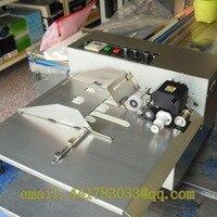 Venta Máquina de codificación de cinta transportadora de acero inoxidable MY-380, máquina de codificación automática, impresora de fecha de producción