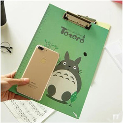 Sell like hot cakes stationery creative students writing pad folder stationery totoro folder art sketch drawing.jpg 250x250