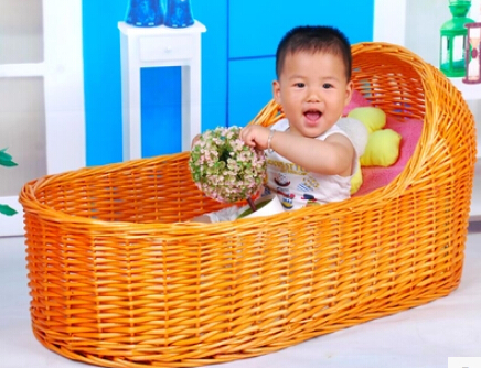 Children's photography props  One hundred days baby basket  Rattan basket  The wicker crib  bassinet  Baby sleeping basket children s photography clothing hundred days old baby pictures studio portrait photography suit dress baby z 643