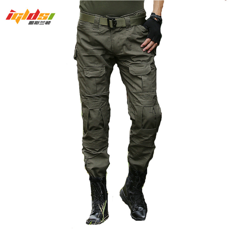 Men Military SWAT Combat Pants Army Tactical Pants Camo Cargo Trousers Airsoft Paintball Slim Casual Camouflage Cargo Trousers