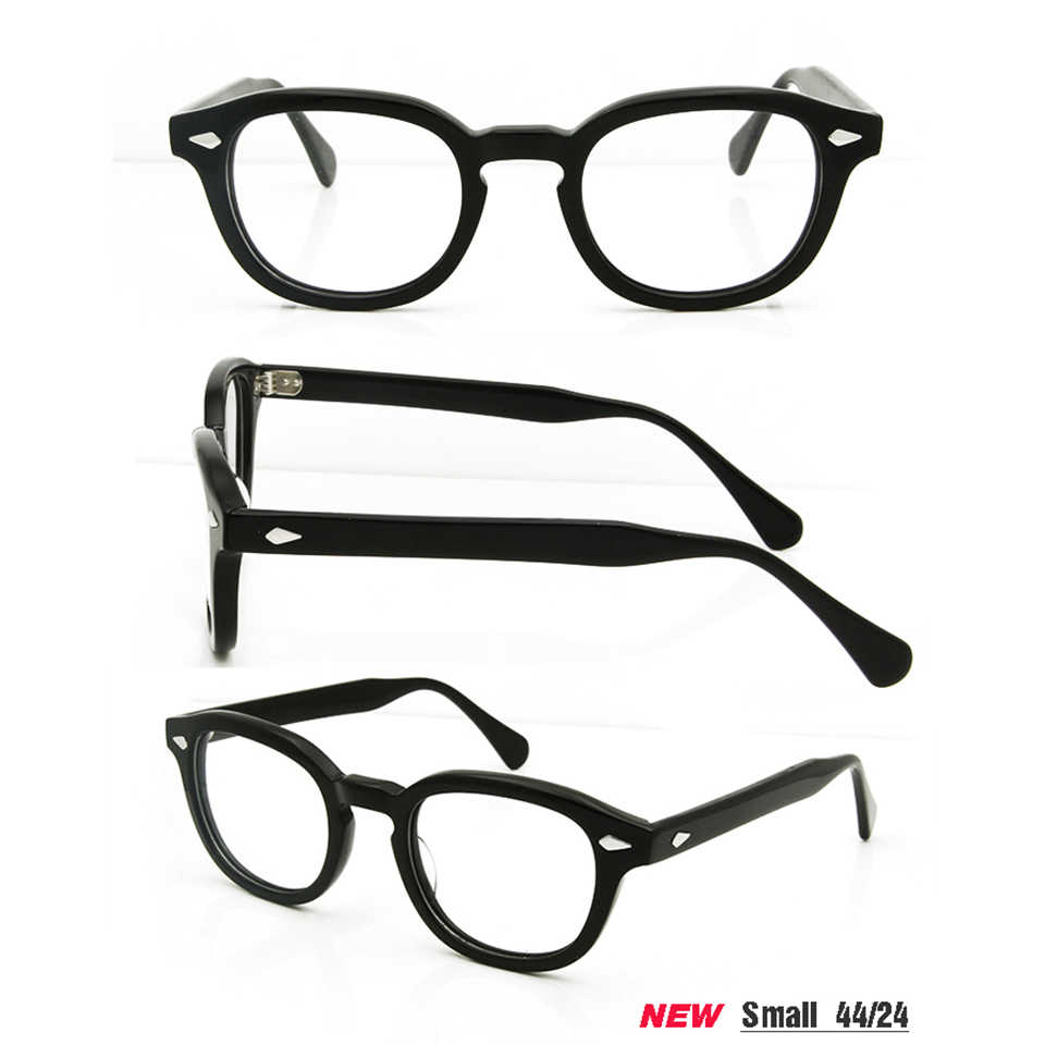 4930a7866c25b ... ESNBIE High Quality Acetate Johnny Depp Style Glasses Men Retro Vintage  Prescription Glasses Women Optical Spectacle ...