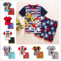 Summer kids clothes sets boy t-shirt+pants suit clothing set Clothes newborn sport suits baby boy clothes children boys clothes