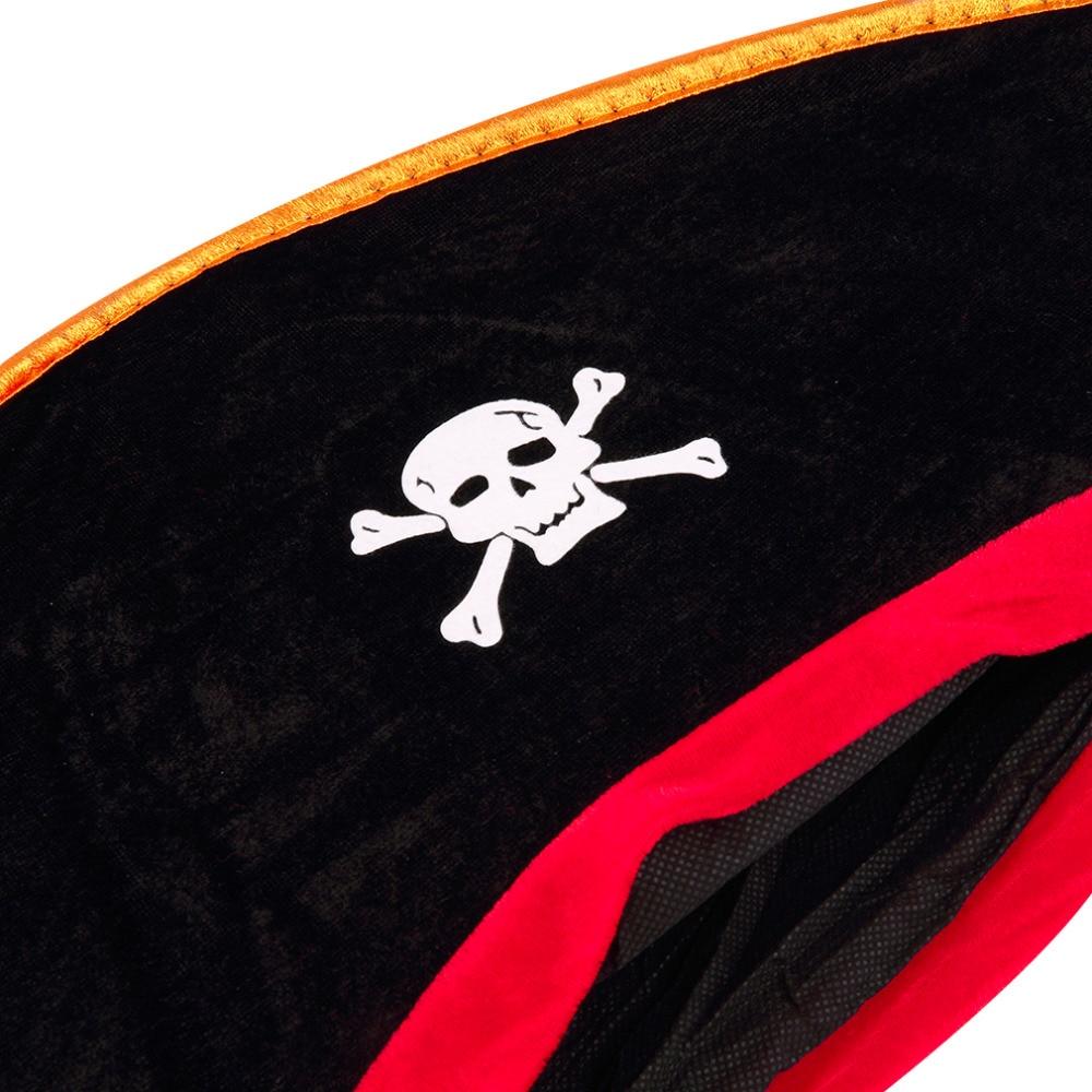 Unisex Novelty Fancy Dress Fashion Braces Red /& Black Skull And Crossbones Print