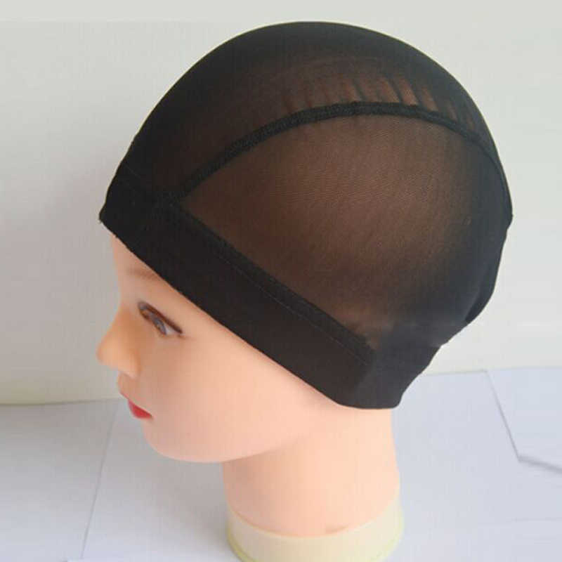 High Quality Wig Cap Hair Net For Weave 1 Piece Hair Wig Nets Stretch Mesh Wig Cap For Making Wigs Free Size For Dropshipping