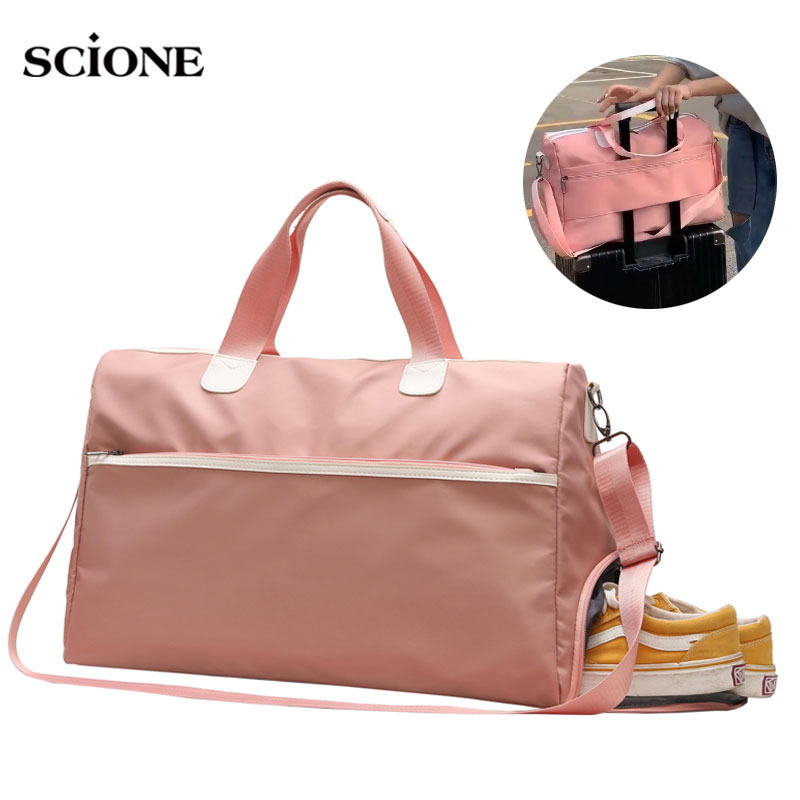 Yoga Fitness Gym Bag Sac De Sport Bags Dry Wet Handbags Swimming For Women 2019 Tas Travel Training Waterproof Bolsa XA536WA