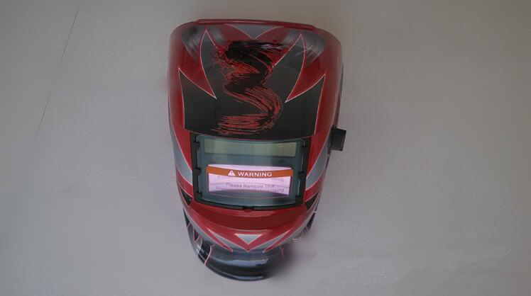 Free flower welding protective mask welding helmet, goggles made in China COOL 100x50mm welding goggles welding tools with automatically dimming glasses welding caps hot red welding mask helmet dhcp 27
