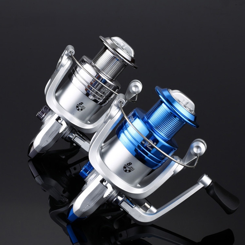 2 रंग 1000-6000 8BB अनुपात 5.2: 1 कार्प - मछली पकड़ना
