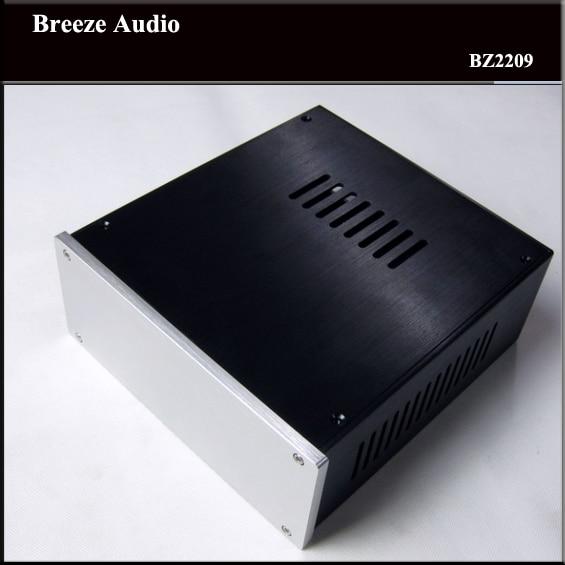 BZ2209 CNC Full Aluminum chassis Audio box class A power amplifier