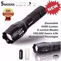 Alta qualidade tactical led flashlight g700 skywolfeye x800 zoom super brilhante grau militar grau militar led lanterna
