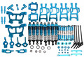 Upgrade Parts Blue For HSP RC 1:10 Electric / Nitro Monster Bigfeet Truck 94108, 94110, 94111 rc car parts toys 166011 166004