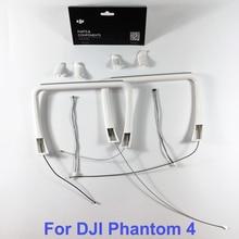 אמיתי DJI פנטום 4 חלק 26 נחיתה נבנה אנטנת & מצפן & כיסוי עבור P4 RC Quadcopter החלפת חלקי תיקון