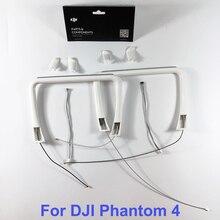 Оригинальный DJI Phantom 4 часть 26 дюймовый шасси Встроенная антенна, компас и крышка для P4 RC фотодетали для ремонта